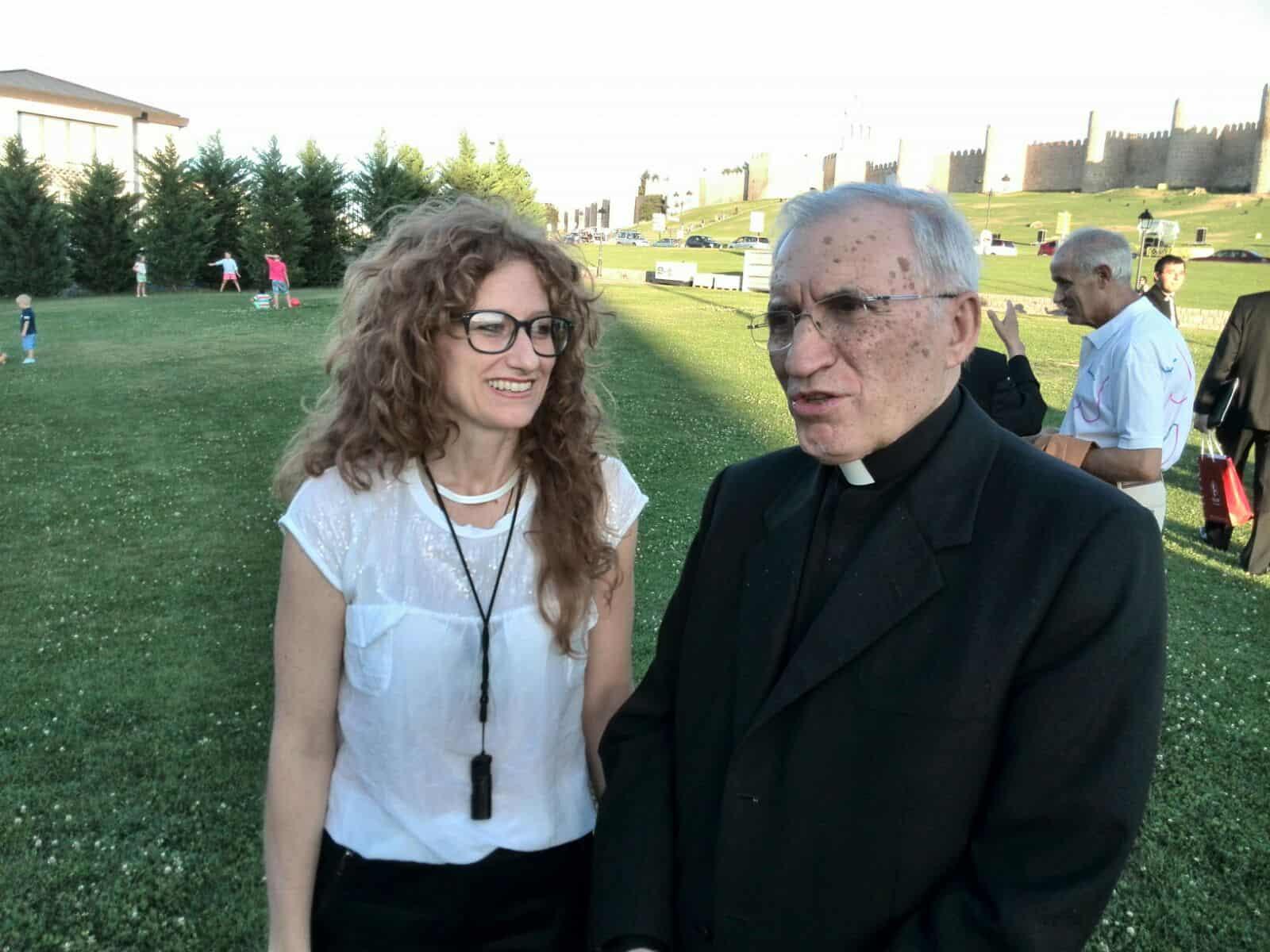 Ilaria Trezza con Rouco Varela